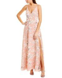 Yumi Kim Silk Maxi Dress - Pink