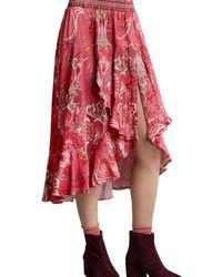 Odd Molly Delicate Skirt - Red