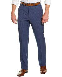 Brooks Brothers Explorer Regent Fit Wool-blend Suit Trouser - Blue