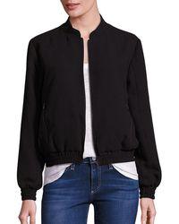 Likely Linden Bomber Jacket - Black