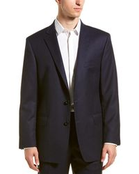 Brooks Brothers Regent Fit Wool Sport Coat - Blue