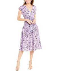 Keepsake Secure Midi Dress - Purple