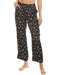 Love Stories Weekend Pyjama Pant - Black