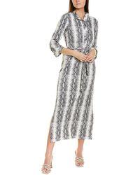 Melissa Masse Brushed Luxe Jersey Maxi Dress - Black