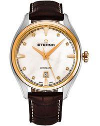 Eterna Avant Garde Watch - Metallic