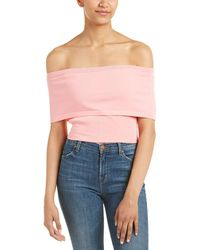 Wow Couture - Eydie Cold-shoulder Top - Lyst