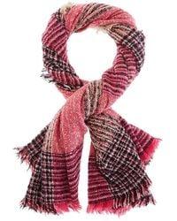 Hat Attack Autumn Scarf - Pink