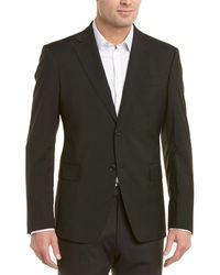Roberto Cavalli Comfort Fit Wool Blazer - Multicolor