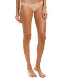 Vitamin A Neutra Hipster Bikini Bottom - Metallic