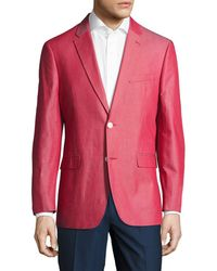 Tommy Hilfiger - Suiting Solid Notch Lapel Sportcoat - Lyst