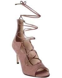 Klub Nico Matilda Suede Sandal - Pink