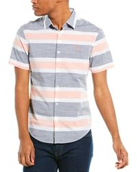 Original Penguin Woven Shirt - Blue
