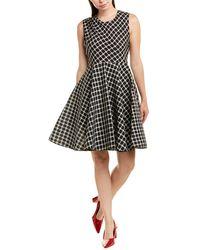Maje Creases A-line Dress - Black