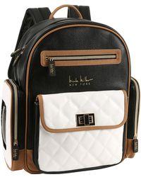 Nicole Miller Backpack Set - Black