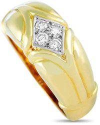 Van Cleef & Arpels Vintage Van Cleef & Arpels 18k 0.21 Ct. Tw. Diamond Ring - Metallic