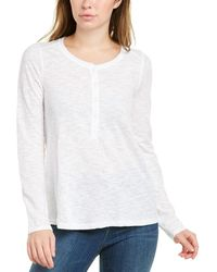 Faherty Brand Colbie Henley - White