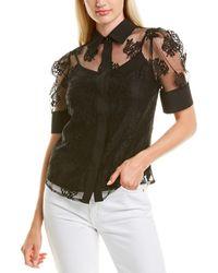 Gracia Lace Top - Black
