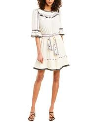 Ba&sh Plaza A-line Dress - White