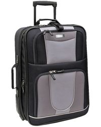 "Geoffrey Beene 21"" Carry-on Luggage - Black"