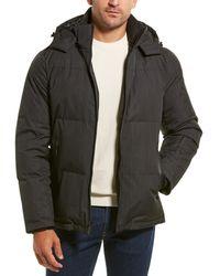 Tahari Quilted Coat - Black