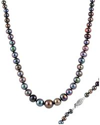 Splendid 14k 4-15mm Freshwater Pearl Necklace - Multicolour
