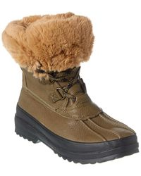 Sperry Top-Sider Maritime Winter Leather Boot - Green