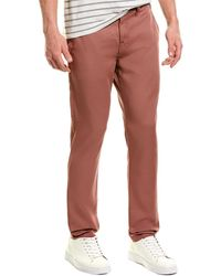 7 For All Mankind 7 For All Mankind Go-to Dusty Rose Chino - Red