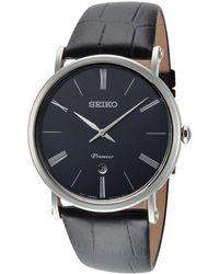 Seiko Premier Watch - Multicolour