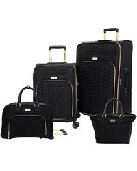 Kensie 4pc Luggage Set - Black