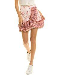 Endless Rose Mini Skirt - Pink
