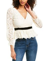 Ali & Jay Andie Blouse - White