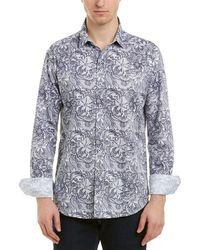 Robert Graham Summer Breeze Classic Fit Woven Shirt - White