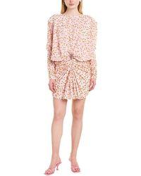 Dodo Bar Or Loretta Silk-blend Mini Dress - Pink