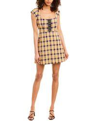 Capulet Lera Mini Dress - Yellow