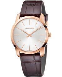 Calvin Klein City Watch - Metallic