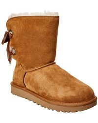 UGG - Customizable Bailey Bow Suede Boot - Lyst