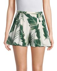 C/meo Collective - Collective Palm Print Pleated Short - Lyst