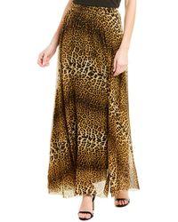 Fuzzi Maxi Skirt - Brown