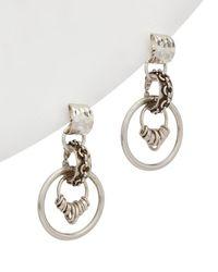 DANNIJO 10k Plated Drop Earrings - Metallic
