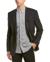 Theory Malcolm New Tailor 3 Wool-blend Sport Coat - Black