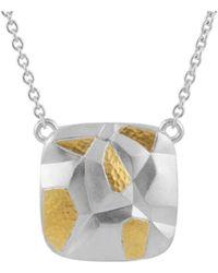 Gurhan Century 24k & Silver Necklace - Metallic