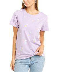 South Parade Crewneck T-shirt - Purple