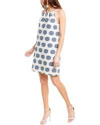 Trina Turk Roe Shift Dress - White