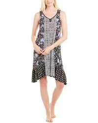 ELLEN TRACY Womens Rose Scuba Dress