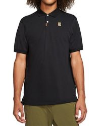 Nike Heritage Standard Polo Shirt - Black