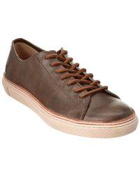 Frye - Gates Low Lace Leather Sneaker - Lyst