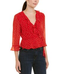 Bardot - Spotty Top - Lyst