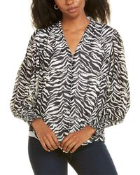 Vince Camuto - Animal Impressions Top - Lyst