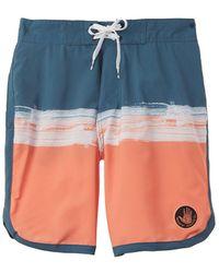Body Glove Asbury Eboard Swim Trunk - Blue