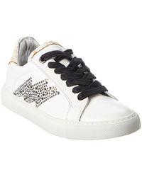 Zadig & Voltaire Zv1747 Leather Sneaker - White